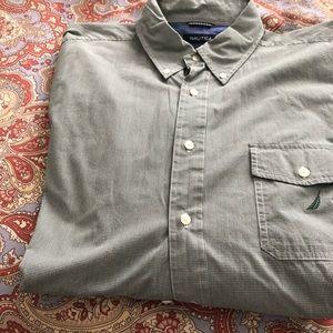 Men's XL Nautica long sleeve button up